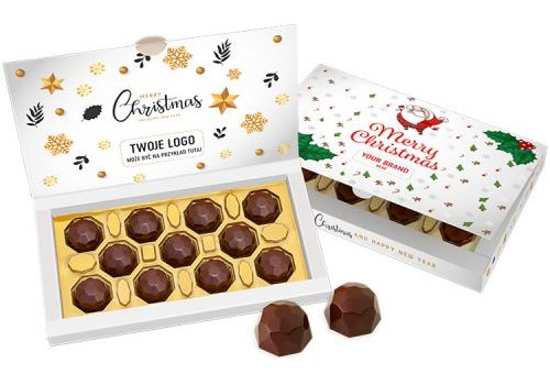 Christmas Chocolate Diamonds Box