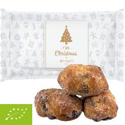 Christmas Organic stollen pieces, ca. 20g