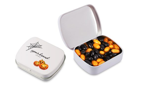 Hallowen Lid with tic-tac type pills