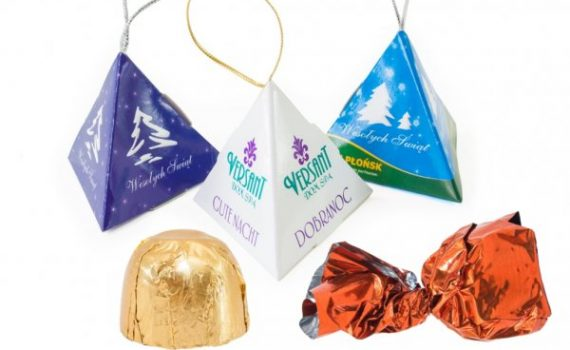 Chocolates in Pyramids