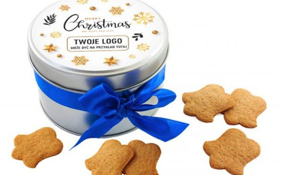 Christmas Cookies in Tin Cans