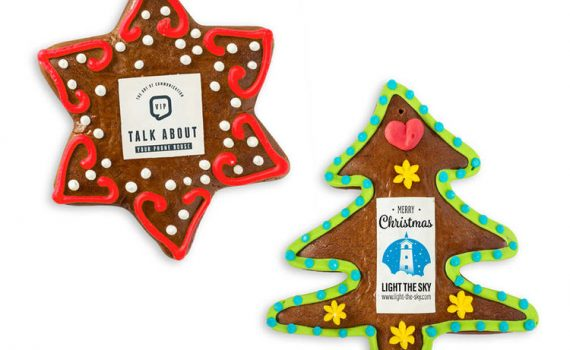 Christmas Gingerbread star or tree