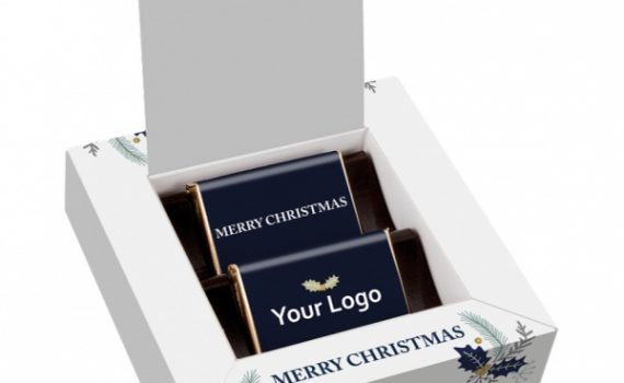 Christmas box with 2 Mini Bars