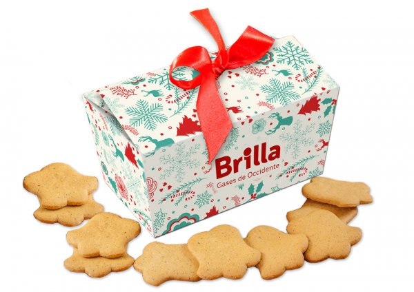 Christmas Spice cookies in bell shape