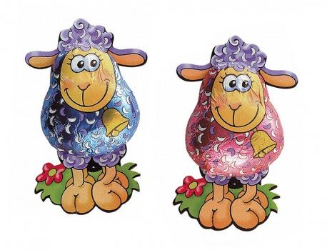 Easter Chocolate Sheep