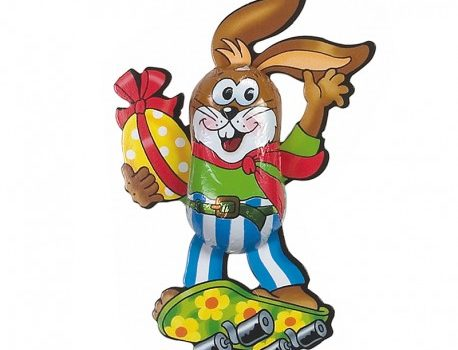 Easter Chocolate Skater Bunny