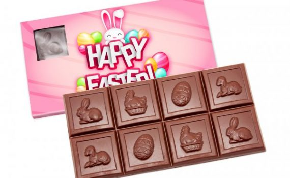 Easter Cube Chocolate
