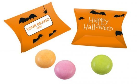 Halloween Mentos Drops in Pillow Box