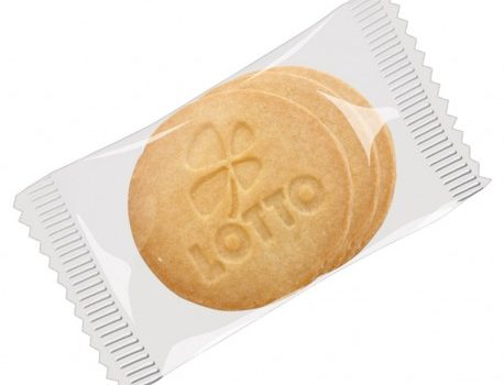 Logo-Biscuits, Round, 3 piece pack