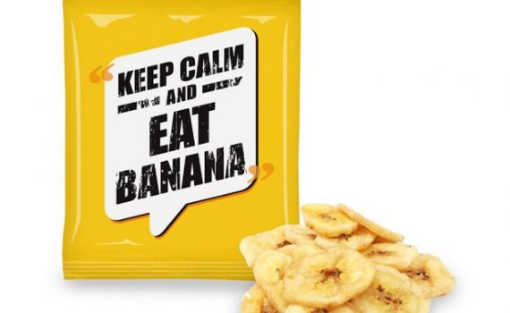 Promotion banana chips