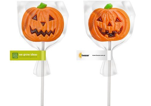 Pumpkin Lollipop
