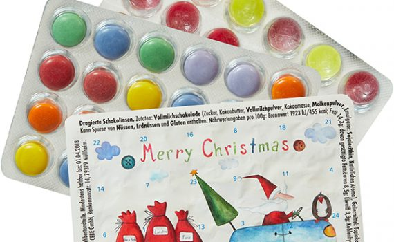 The World's Smallest Advent Calendar