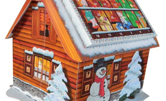Advent Calendar Cottage 40g