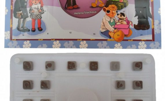 Advent calendar 50g with CD