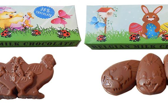 Chocolate 17g in box - Easter designs