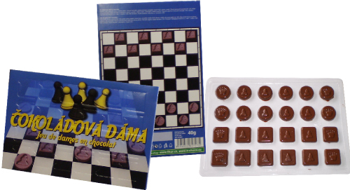 Chocolate Checkers 40g