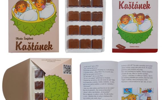Chocolate Library 60g - Chestnut