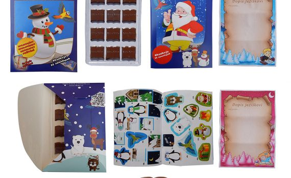 Chocolate Library 60g - Playful chocolate - winter
