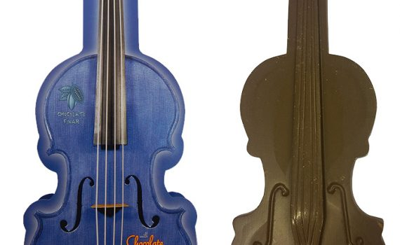 Chocolate Violin 200g - Blue