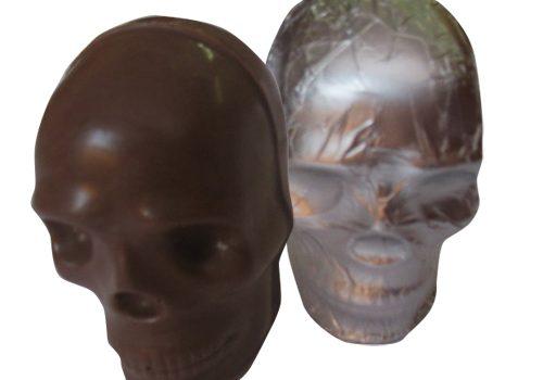 Chocolate skull 70g