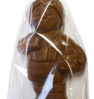 Chocolate soccer player Lollipop 120g