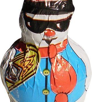 Christmas Chocolate Snowman 60g - Snowboard