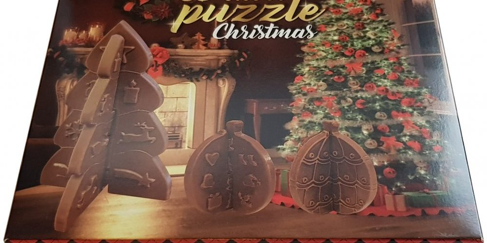 Christmas chocolate puzzle 80g