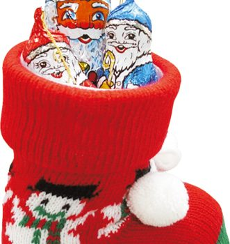 Christmas sock with chocolate figures 120g