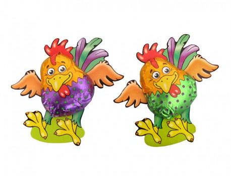Easter Chocolate Crazy Rooster
