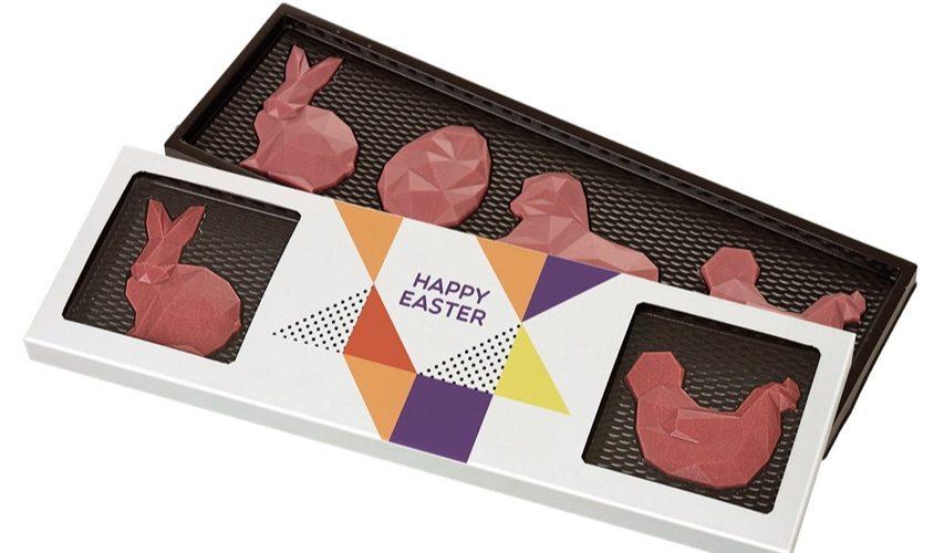 Easter Farm 4 chocolate figures