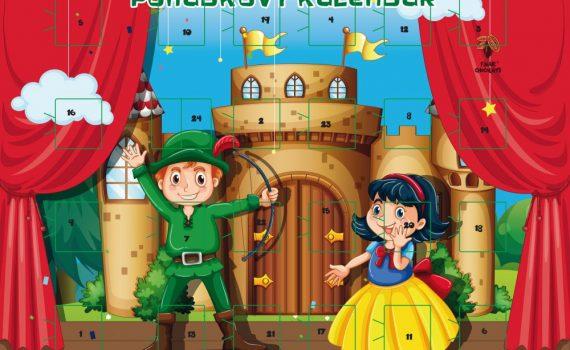 Fairy Christmas Calendar A4 50g