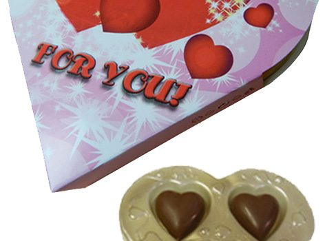 Heart in blister pack 24g - For you