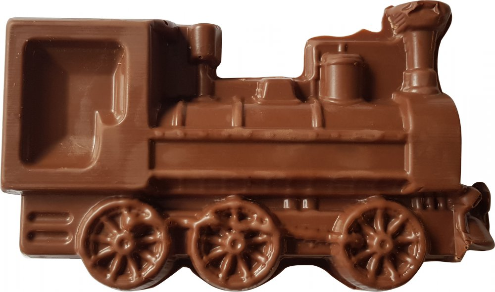 Promotion chocolate locomotive 250g in a gift box