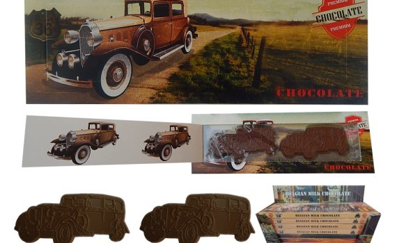 Transport 100g - Chocolate car