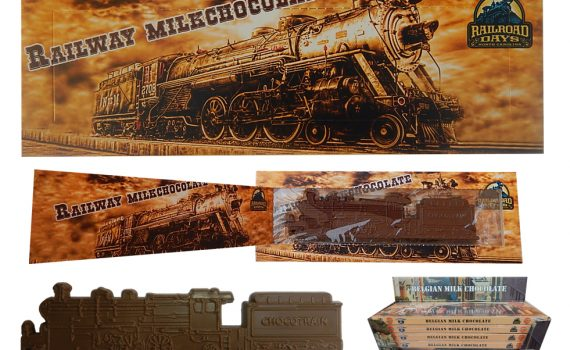 Transport 100g - Chocolate train