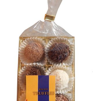 Truffles in bag and blister 72g, mix