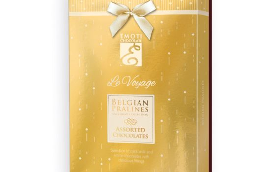 Belgian pralines with filling in gift box, 120g