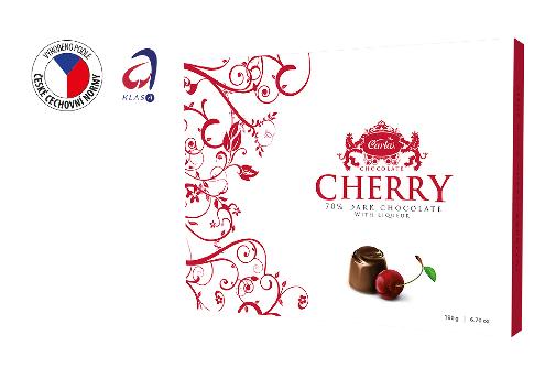 CHERRY - Chocolate cherries 90 g