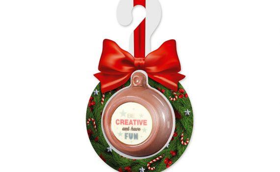 Christmas chocolate ball