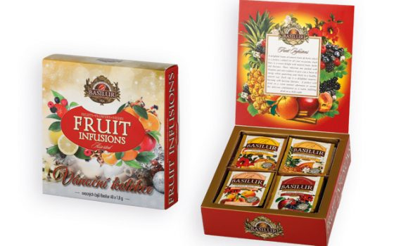Christmas collection of fruit flavored teas, 72 g