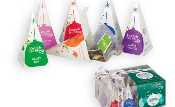 Christmas gift collection of organic teas