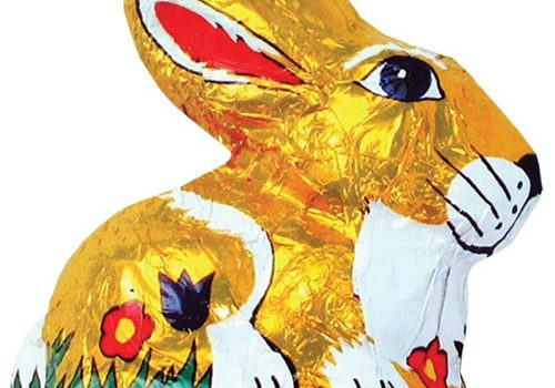 Easter Chocolate Golden Sitting Hare 100g