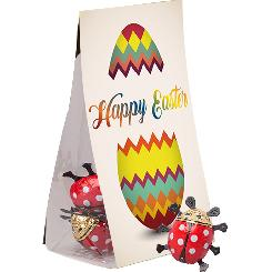 Easter chocolate ladybug, 5 pieces