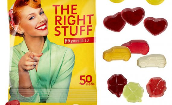Fruit Gum Standard Shapes