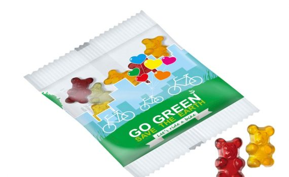Fruit jelly bio vegan bears