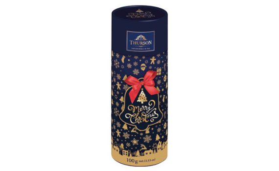 Gift tube with black loose tea, 100 g