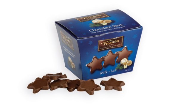 MINI STARS milk chocolate stars, 100g