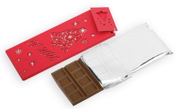 Milk chocolate with almonds and raspberries, 175g