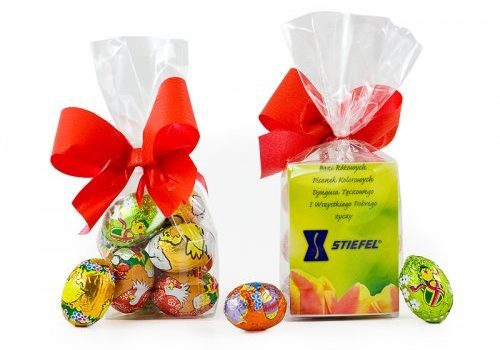 Mini Easter Eggs with Card
