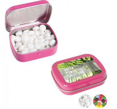 Mint Pills in Rectangular Tin